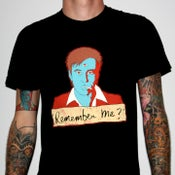 "Image of Bill Hicks ""Remember Me?"" by Jermaine Rogers T-Shirt - AA Black"