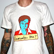 "Image of Bill Hicks ""Remember Me?"" by Jermaine Rogers T-Shirt - AA White"