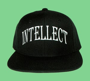 "Image of ""Intellect"" Snapback (Black)"