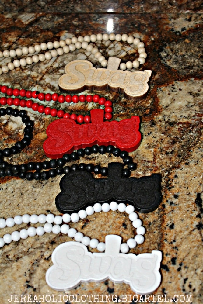 Image of WOODEN SWAGG NECKLACE ....LIMITED FROM #WEDABEST