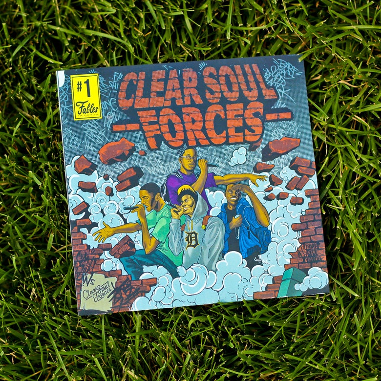"Image of Clear Soul Forces ""Get No Better"" 7"" Vinyl"