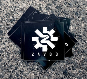 Image of ZAVOD logo stickers