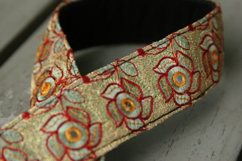 Image of camera strap - best exotic flower