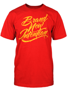 Image of BNI Logo Red - Yellow Crackle