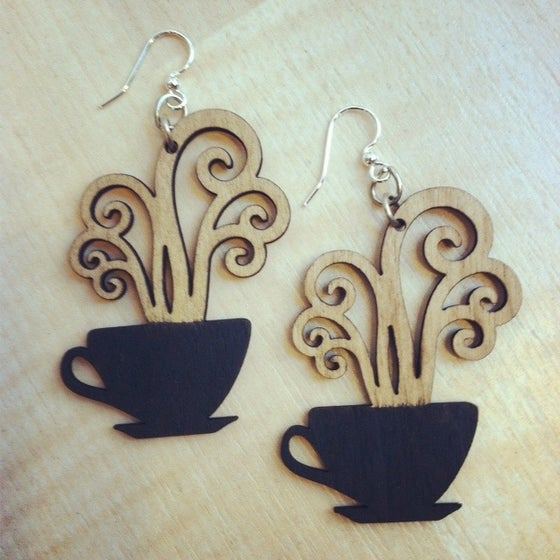 Image of Coffee Earrings