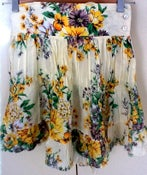 Image of Fred Bare Floral Print Skirt. Size 12.
