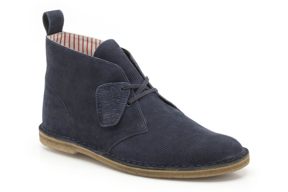 Image of JaguarShoes Collective x Clarks Originals Men's Desert Boot + McBess Socks