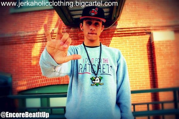 """Image of GREY """"I DO IT FOR THE RATCHES """" CREW NECK LIMITED COLOR"""