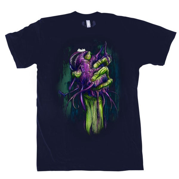 Image of Handfull Baby Grimace | By Alex Pardee | Limited Edition T Shirt