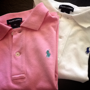 Image of Ralph Lauren Polo Shirt. Size M 6-8