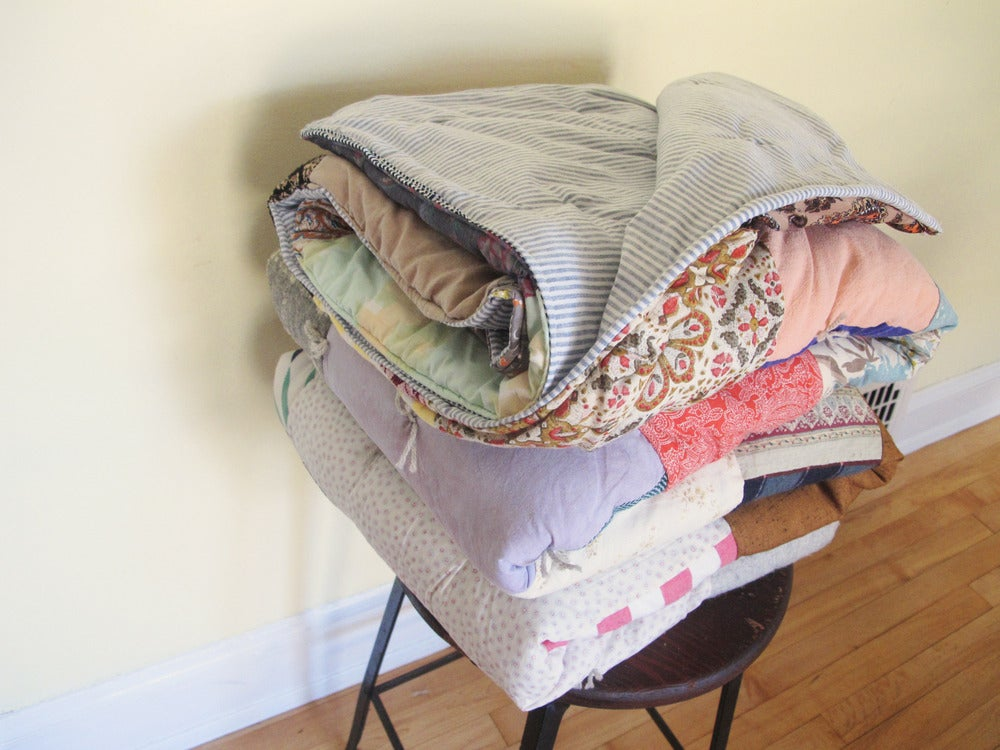 Image of Reversible Remnants Quilt