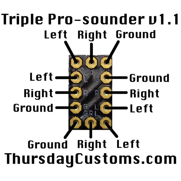 Image of Triple Pro-sounder
