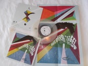 Image of Buzzards/Steel Island Split 7""