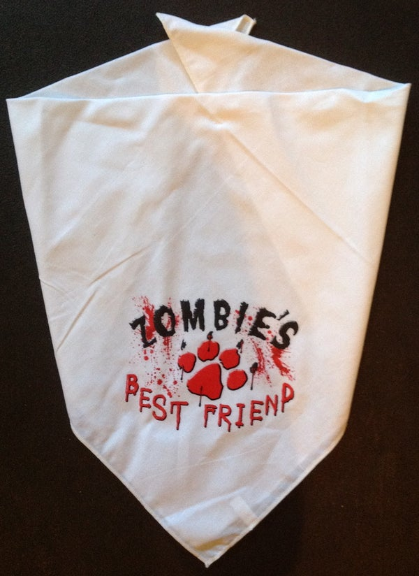 Image of Zombie's Best Friend Bandana