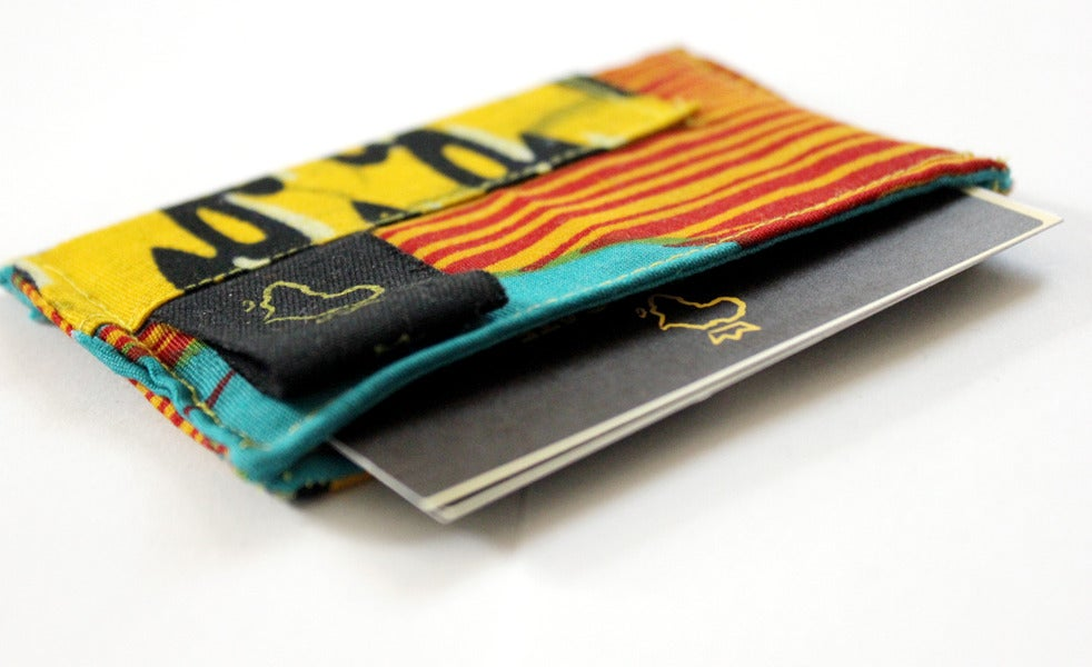 ✩ slim BUSINESS CARD HOLDER ✩ | Open The Gate Handmade