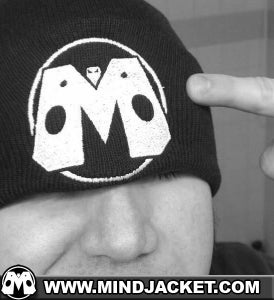 Image of MiNDJACKET Hero Logo Knit Skully Cap