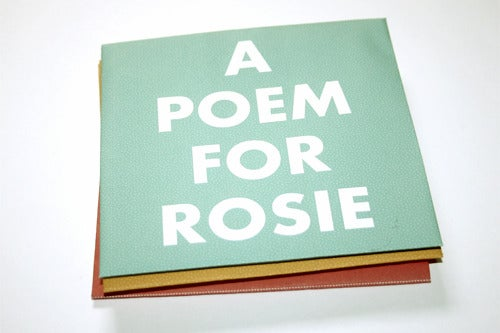 Image of A Poem For Rosie