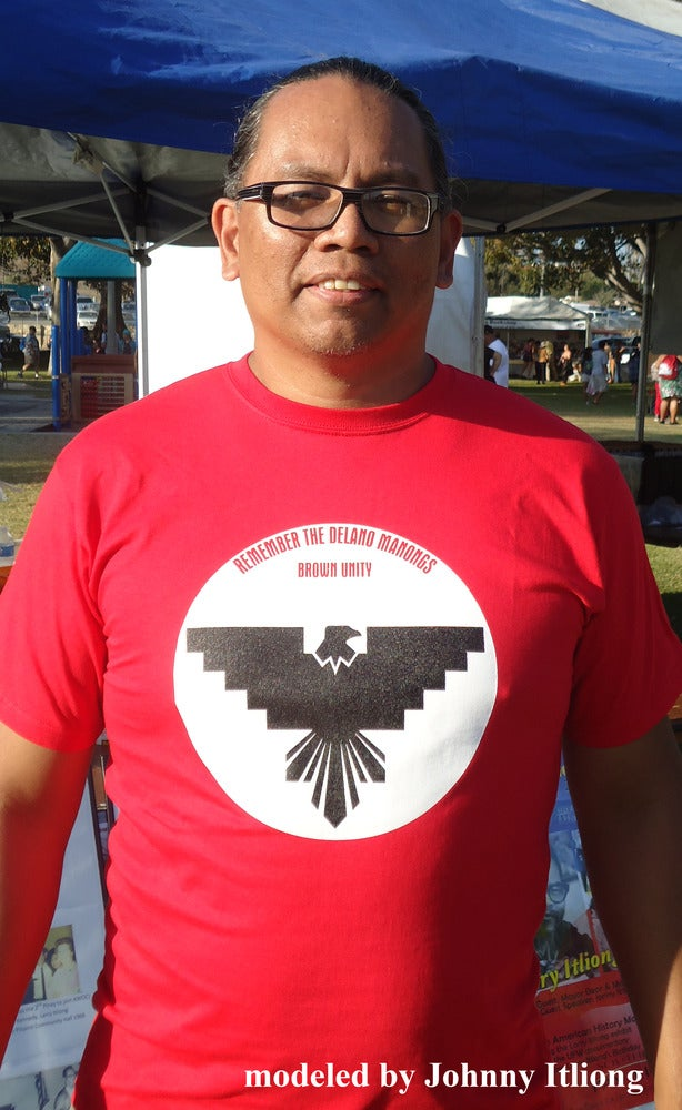"Image of ""Remember the Delano Manongs"" shirt"