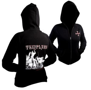 Image of Templars Beauseant Girls Zip Hoody