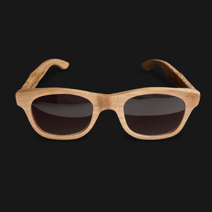 Image of UGMONK × VERDE STYLES<BR/> BAMBOO SUNGLASSES (NATURAL)