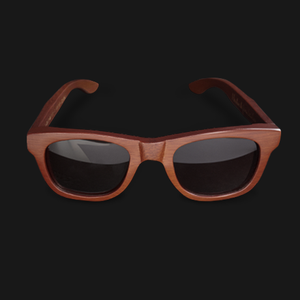 Image of UGMONK × VERDE STYLES<BR/> BAMBOO SUNGLASSES (BROWN)