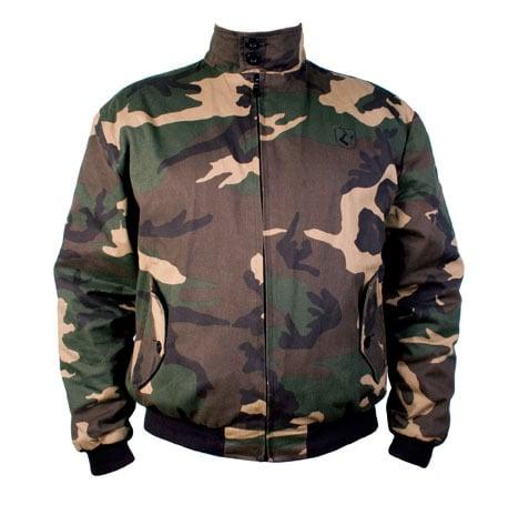 Hammersmith Nyc Camouflage Harrington Jacket