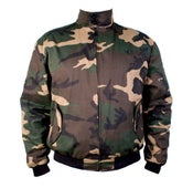 Image of Camouflage Harrington Jacket