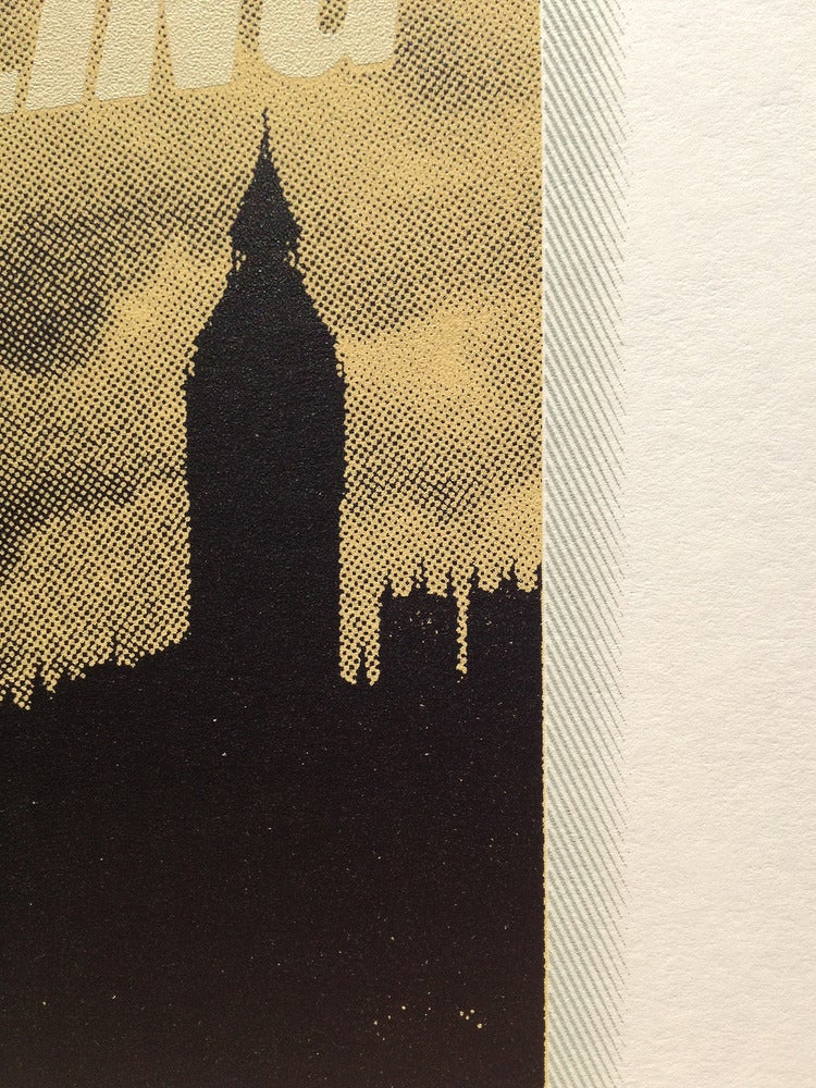 Image of London Calling Screen Print Limited Edition