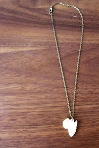 Image of Africa Pendant Necklace