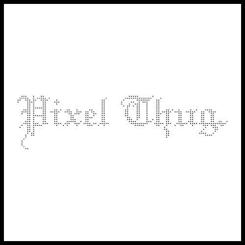 Image of Pixel Thug Tee