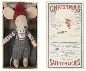 Image of Maileg - Christmas Mouse In Box Big Brother (Pre-order)