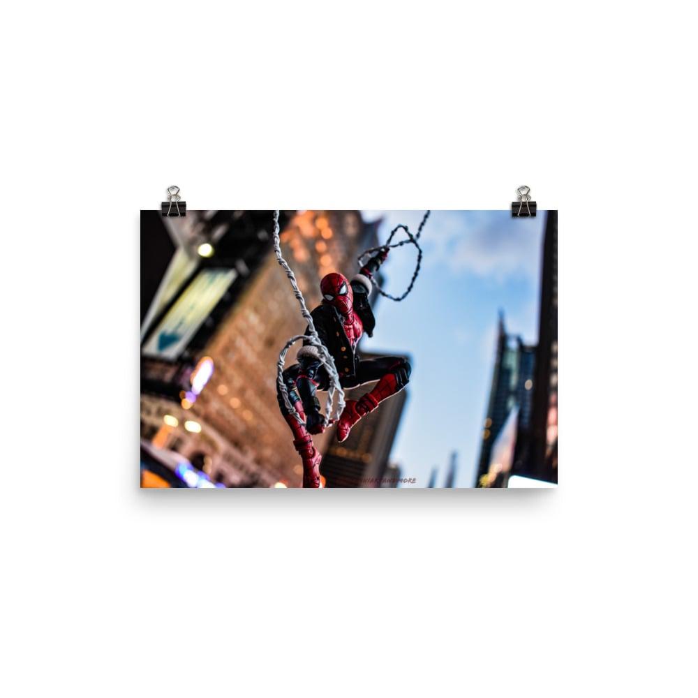 Times Square swinging