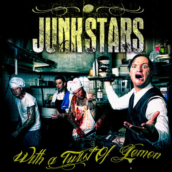 Image of Junkstars - With A Twist Of Lemon (CD)