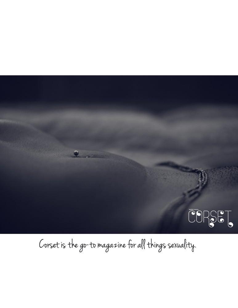 Image of Corset Magazine, Inaugural Issue, Nudity (Digital)