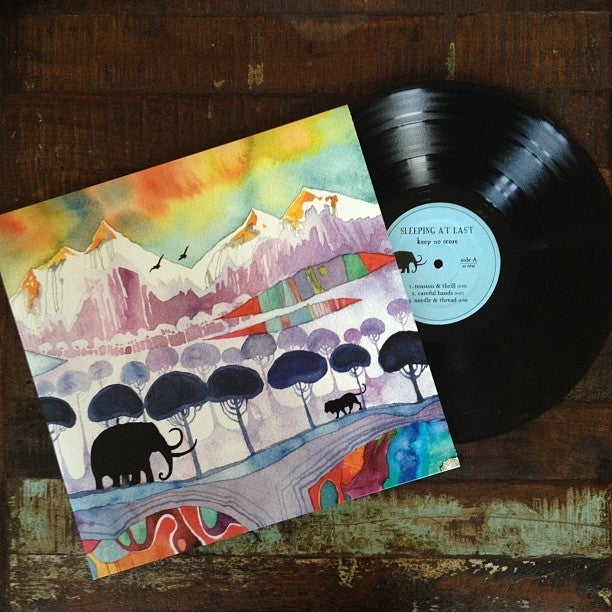 Keep No Score Vinyl Double Lp Sleeping At Last