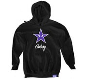 Image of PURPLE STAR HOODIE