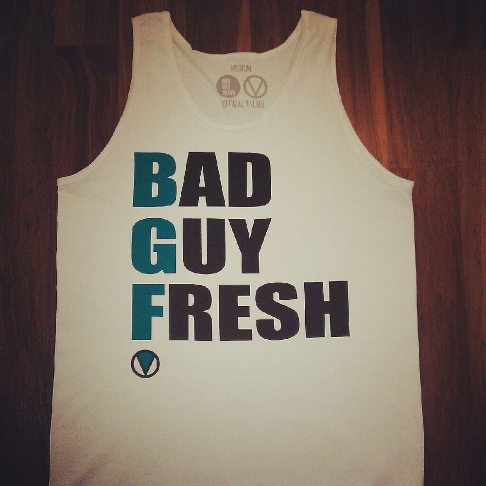 Image of BAD GUY FRESH x OFFICIAL VILLAINS Tank Top