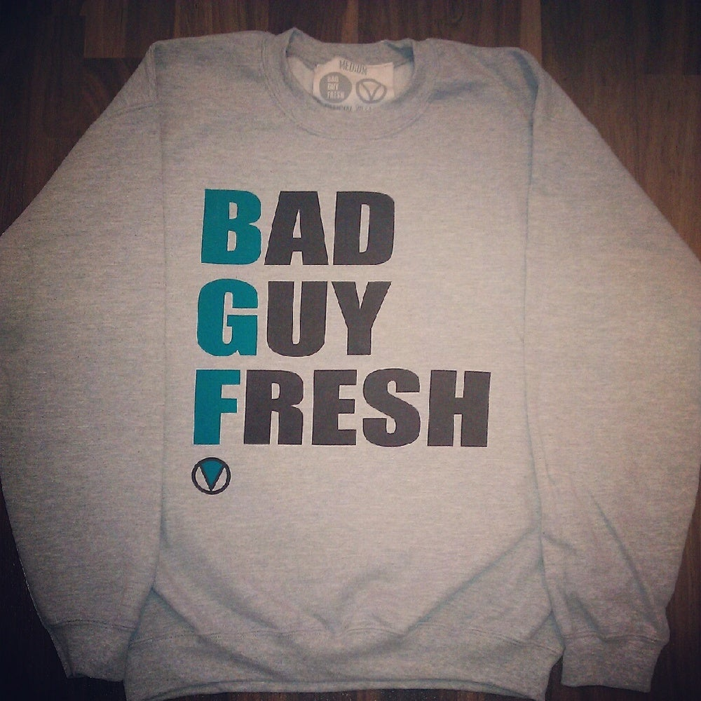 Image of BAD GUY FRESH x OFFICIAL VILLAINS Crewneck Sweatshirt