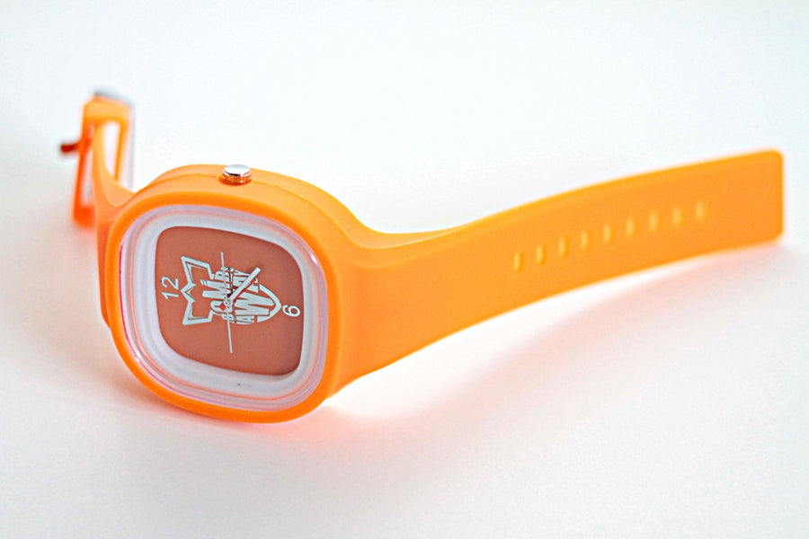 Image of BOMB AWAY WATCH - ORANGE!