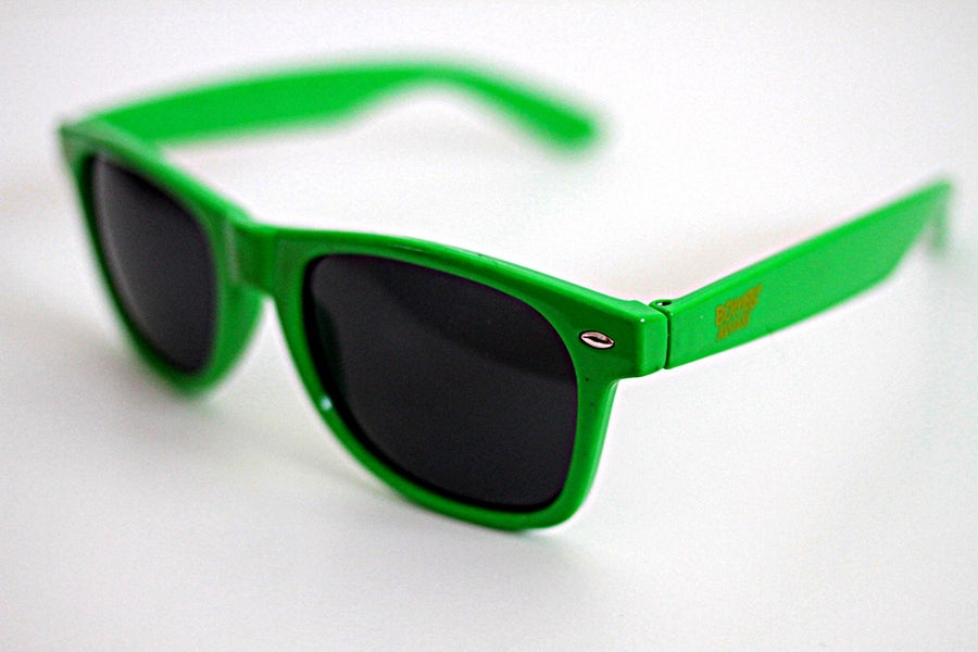 Image of Bombs Away Sunnies - GREEN