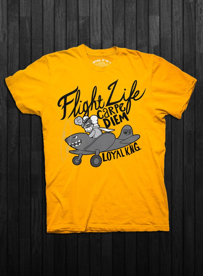 Image of Flight Life (Gold/Black/Red)