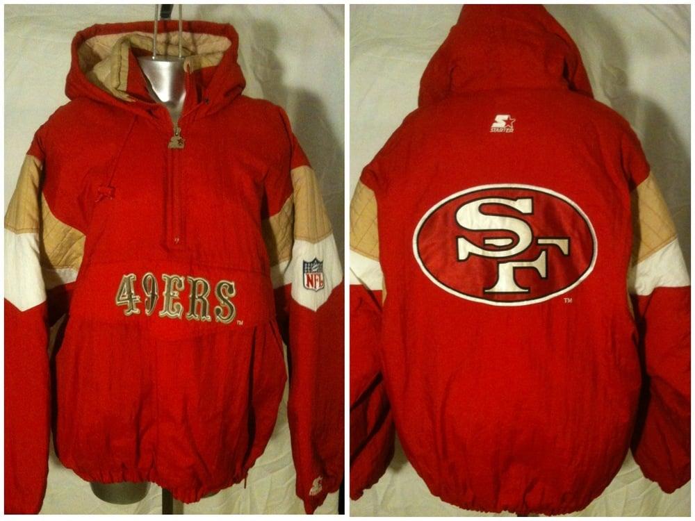 c7d8e8fb Vintage San Francisco 49ERS Starter Jacket