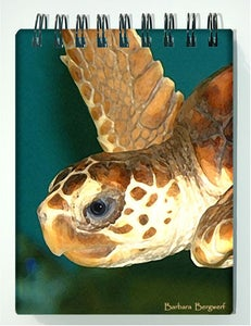 Image of  Sea Turtle Spiral Notebook