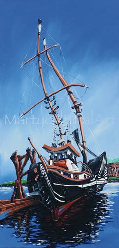 Image of SS Beaver II Original Painting