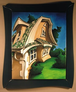 Image of Barn House 8539 II Original Painting