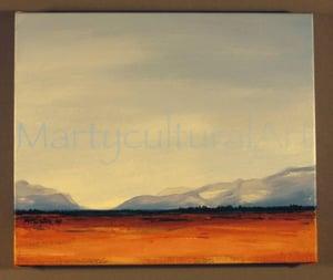 Image of Alberta Sky- Study Original Painting