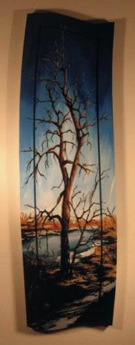 Image of White Poplar Original Painting