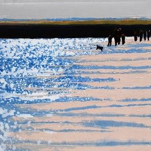 Image of Winter Sun, Camel Estuary, North Cornwall
