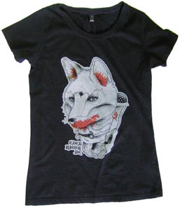 Image of girlie shirt fox