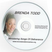 Image of Ministering Songs of Deliverance - CD